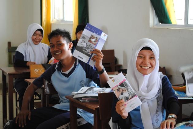 Sosialisasi Perguruan Tinggi Malaysia di SMA Negeri 2 Tanjungpinang