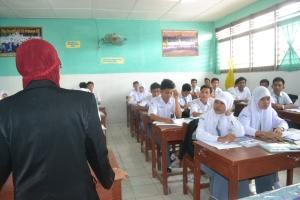Sosialisasi Edu AtMalaysia ke SMAN 8 Medan, mengenai Perguruan Tinggi di Malaysia